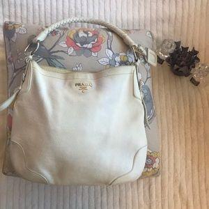 Prada Saffiano Hobo/Shoulder Bag